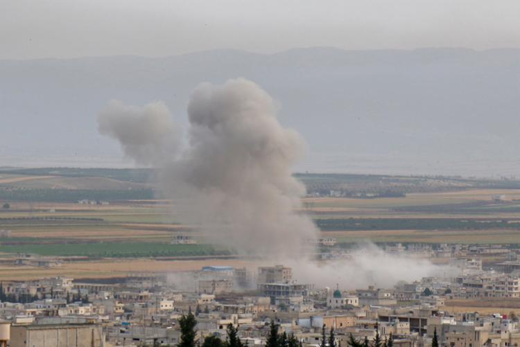 As tensões entre países da região vêm aumentando em reação à influência do Irã sobre a Síria - Foto: Anas AL-dyab | AFP