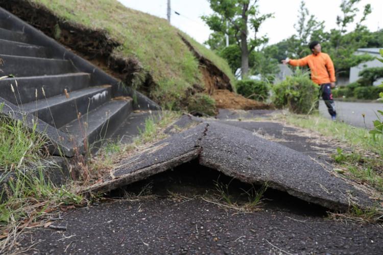 Tremor ocorreu ao largo da costa de Yamagata às 22h22 - Foto: Jiji Press   AFP