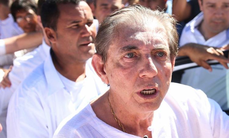 João de Deus está internado no Instituto de Neurologia de Goiânia desde março - Foto: Marcelo Camargo | Agência Brasil
