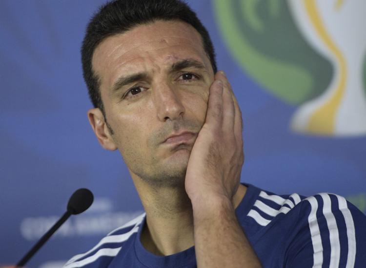O treinador afirmou não sentir pressão pelo fato de a seleção argentina não conquistar um título importante desde 1993 - Foto: Juan Mabromata l AFP