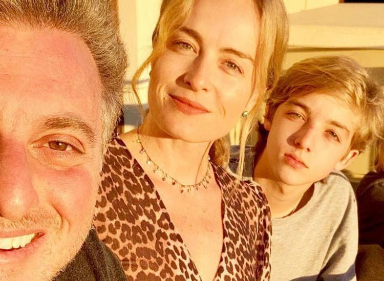 De acordo com uma publicação de Luciano no Instagram, o filho passa bem - Foto: Reprodução   Instagram