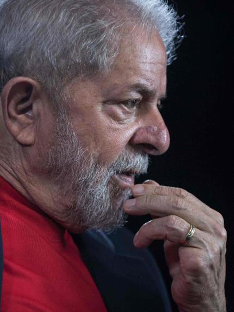 Ex-presidente ocupa uma sala especial, isolado da carceragem em Curitiba - Foto: Nelson Almeida | AFP