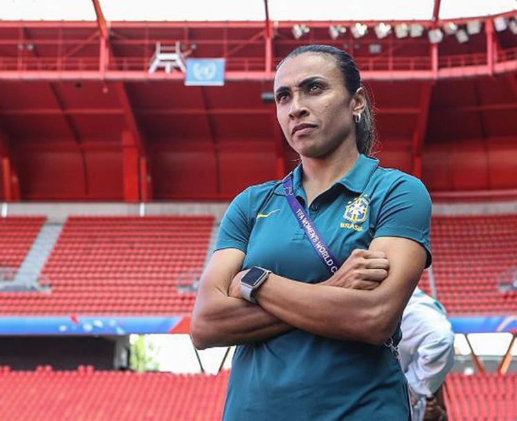Mesmo sem estar 100%, Marta será titular no jogo mais importante do Brasil - Foto: Divulgação l CBF