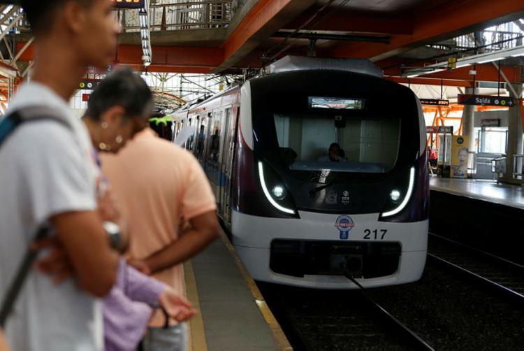 Sistema de metrô tem ampliação já prevista de Pirajá até Águas Claras (Linha 1) - Foto: Joá Souza | Ag. A TARDE