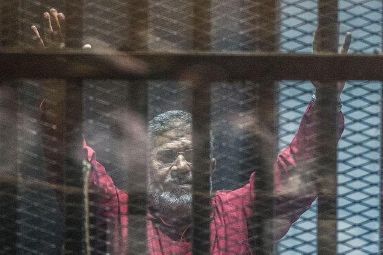 O ex-presidente estava preso desde julho de 2013 - Foto: Khaled Desouki l AFP