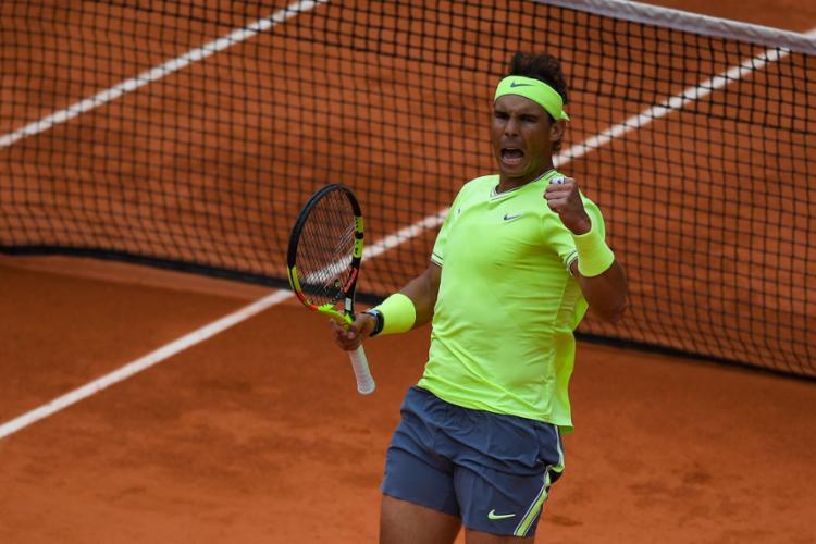 O espanhol pode se tornar o primeiro tenista a conquistar 12 títulos de um mesmo Grand Slam - Foto: Christophe Archambault l AFP