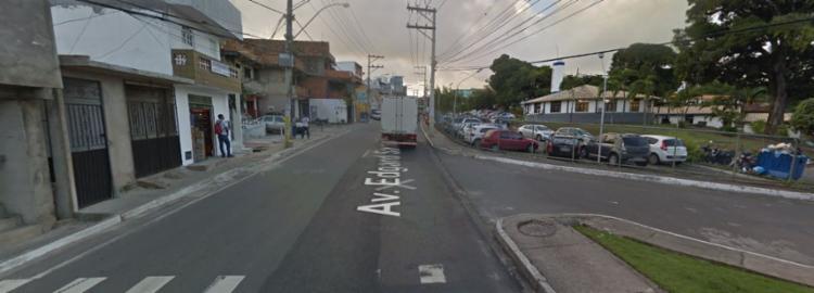 Agentes foram acionados para atender a ocorrência, mas nenhum suspeito foi localizado - Foto: Reprodução | Google Street Views