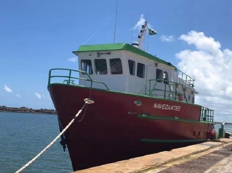 A embarcação Navegantes pertencia à frota de uma empresa do ramo de transporte de cargas - Foto: Divulgação