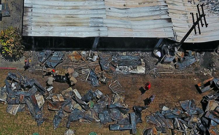 CT do Flamendo do Ninho do Urubu foi atingido por incêndio no dia 8 de fevereiro - Foto: Fábio Motta   Estadao Conteudo