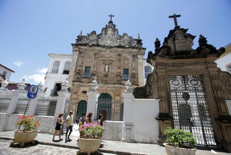Obras teriam sido retiradas ilegalmente da igreja da Ordem Terceira de São Francisco - Foto: Joá Souza | Ag. A TARDE