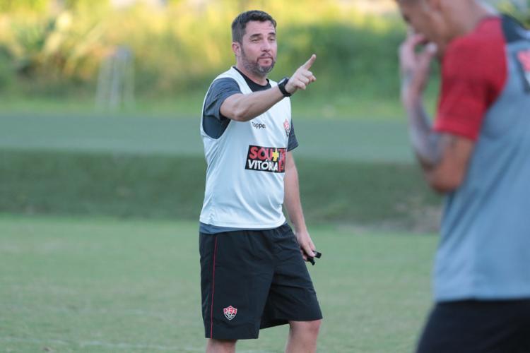 Rubro-Negro treinou no CT do Palmeiras e Loss fez últimos ajustes no time - Foto: Tiago Caldas l EC Vitória