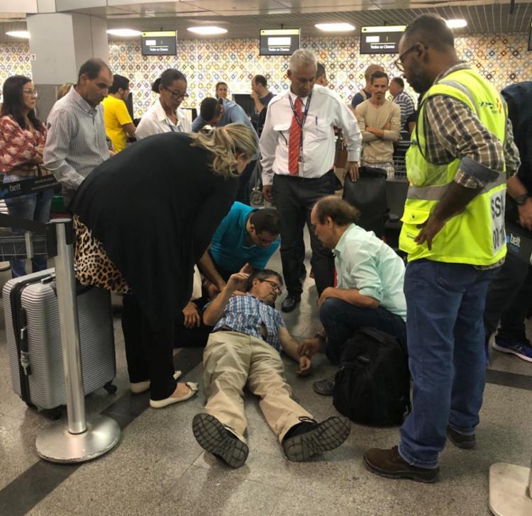 Situação gerou cancelamentos e tumulto no aeroporto