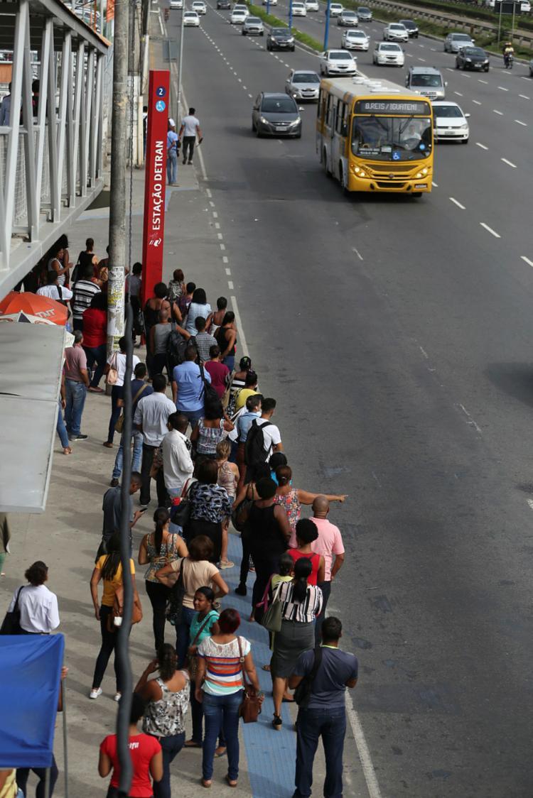 Mais de mil veículos irão circular nesta sexta-feira - Foto: Joá Souza | Ag. A TARDE