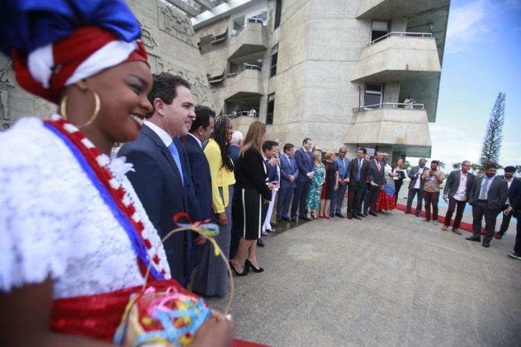 Em clima solene e festivo, o ParlaNordeste produziu na Alba a Carta de Salvador - Foto: Joá Souza l Ag. A TARDE
