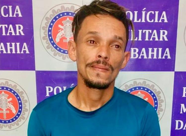 Paulo foi encontrado com drogas dentro de uma residência - Foto: Divulgação | SSP