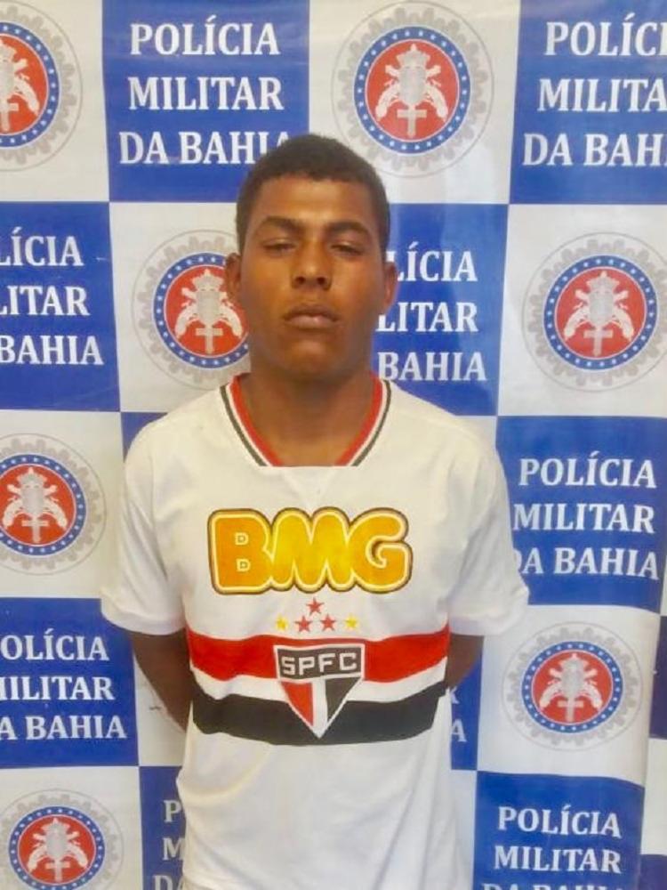 Jeferson foi autuado por dano e ameaça, como prevê a Lei Maria da Penha - Foto: Divulgação | SSP