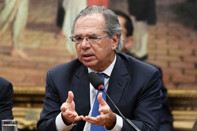 Guedes enumerar ouepisódios que ameaçaram as negociações pela reforma - Foto: Evaristo Sá | AFP