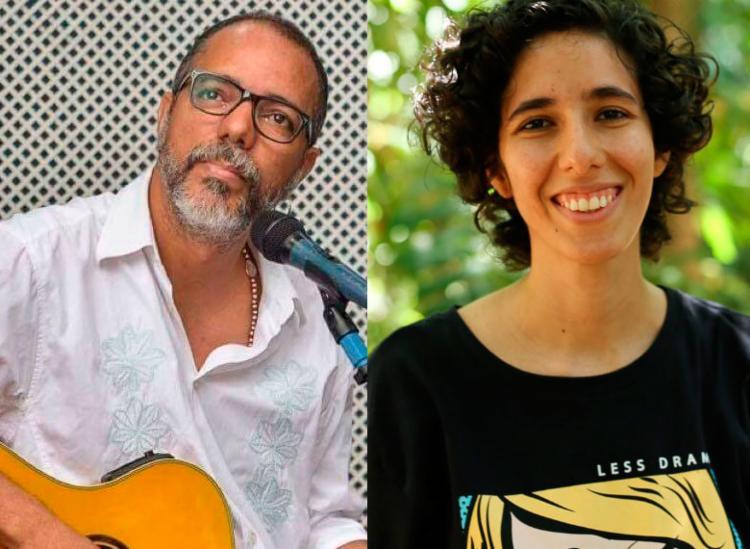 Compositor Jarbas e poeta Jade Bittencourt são os convidados do Sarau das Sílabas - Foto: Divulgação