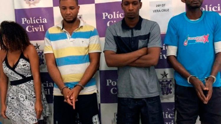 Bando levou cerca de 37 celulares durante a ação criminosa - Foto: Divulgação | Polícia Civil