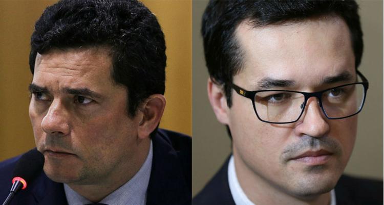 Nas mensagens, Moro sugeriu que o procurador trocasse a ordem de fases da Lava Jato - Foto: Valter Campanato e Fabio Rodrigues Pozzebom | Agência Brasil