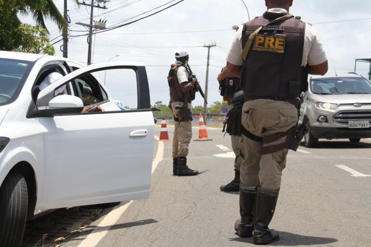 Fiscalização foi intensificada nos acessos das principais festas - Foto: Alberto Maraux l Divulgação