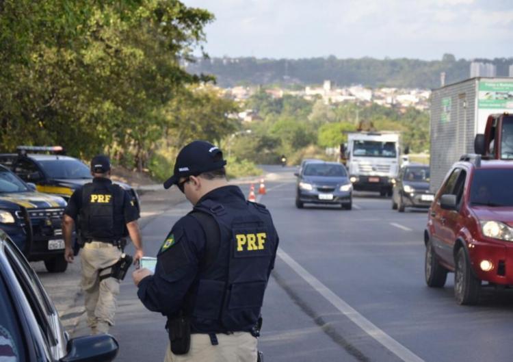 A ação ocorreu próximo ao km 606 da rodovia - Foto: Reprodução | PRF