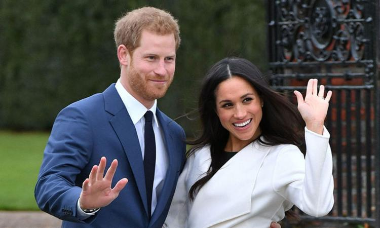 Príncipe Harry e sua esposa Meghan Markle - Foto: Divulgação | VIP