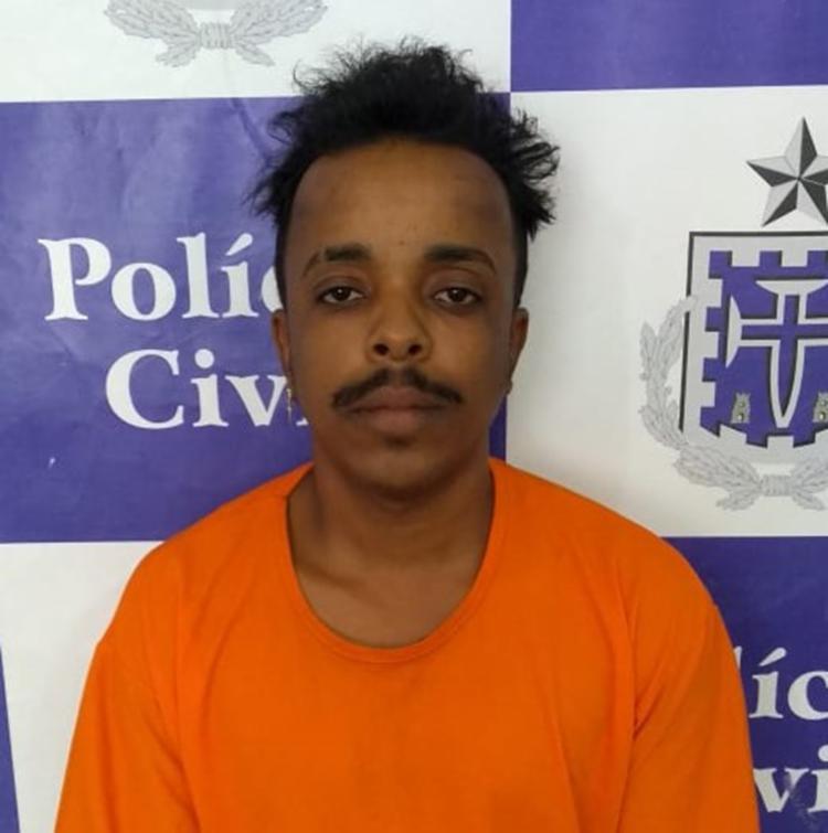 Suspeito encontra-se à disposição da Justiça. - Foto: Divulgação | SSP