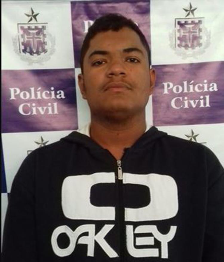 Jackson Breno de Almeida levou R$ 2.320 durante o assalto e foi reconhecido pela vítima - Foto: Divulgação | SSP