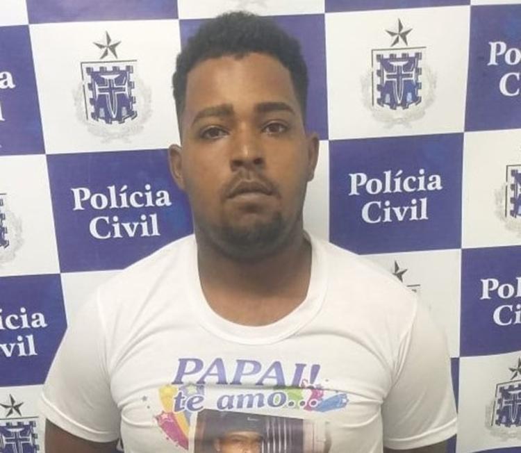 Mateus também é suspeito de integrar uma quadrilha responsável tráfico de drogas - Foto: Divulgação | SSP