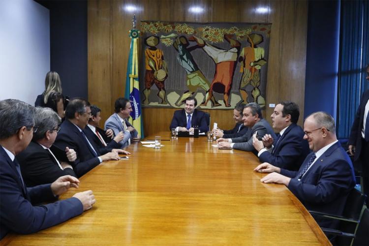 O governador da Bahia participou de reunião para discutir fontes alternativas de receitas para os Estados - Foto: Camila Peres l Gov-BA
