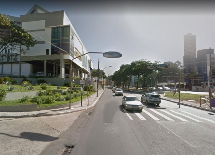 As modificações acontecerão no trecho próximo ao antigo hotel Othon Palace - Foto: Reprodução | Google Street View