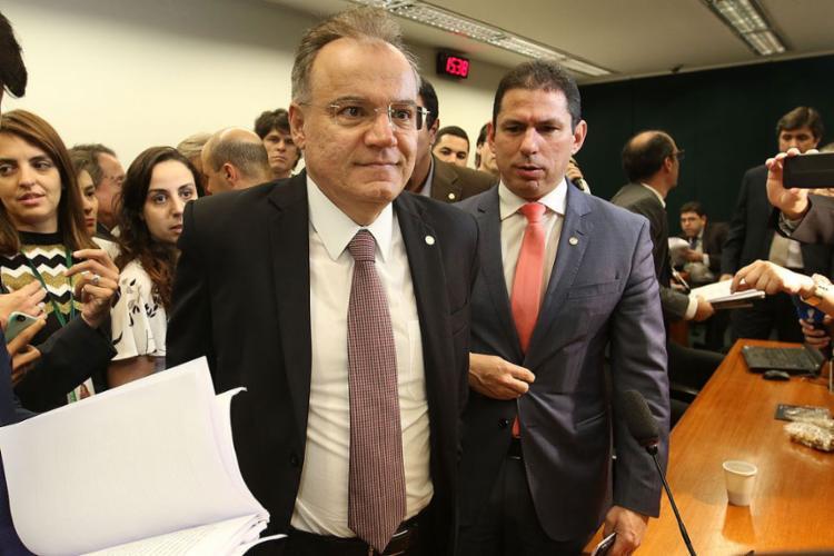 O relator Samuel Moreira apresentou nesta quinta-feira, 13, o parecer sobre reforma da Previdência - Foto: Fabio Rodrigues Pozzebom l Agência Brasil
