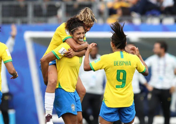 Com três gols de Cristiane, Brasil estreia mais uma vez com vitória em Copas do Mundo - Foto: Divulgação | CBF