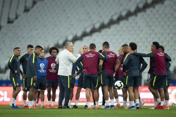 Vaiada nos primeiros dois jogos da Copa América, seleção tem nova chance de vencer e convencer - Foto: Lucas Figueiredo l CBF