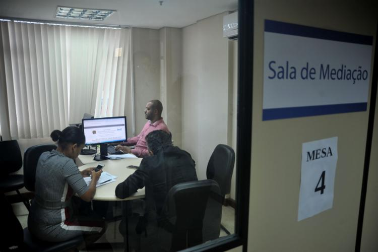 O Regional baiano promoveu 4.602 audiências e beneficiou diretamente 8.553 pessoas - Foto: Felipe Iruatã l Ag. A TARDE l 27.5.2019