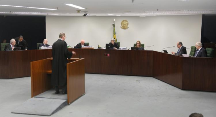 A maioria dos ministros rejeitou a possibilidade do ex-presidente ficar livre até a conclusão do julgamento - Foto: Nelson Jr. l STF