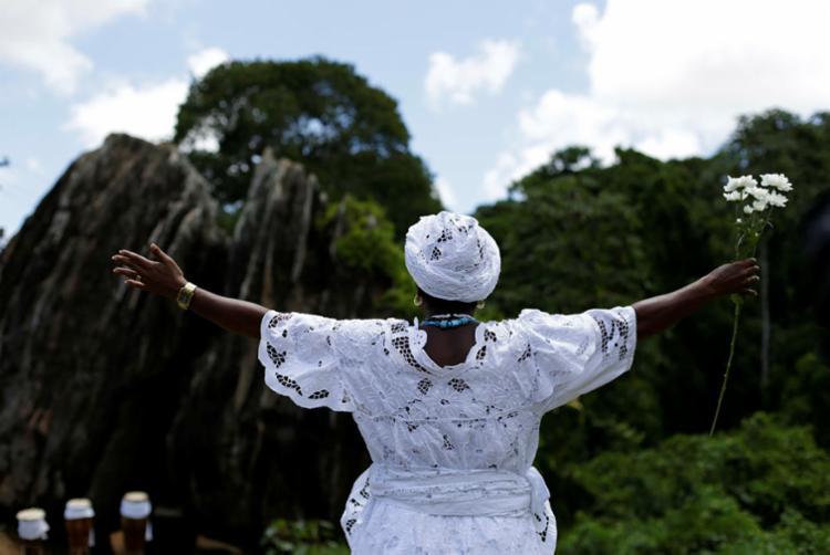 O estatuto chega em um momento oportuno, uma vez que as agressões a terreiros de candomblé vêm crescendo - Foto: Raul Spinassé | Ag. A TARDE