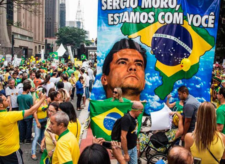 Grupo optou por uma agenda que não inclui a defesa do presidente Jair Bolsonaro - Foto: Reprodução | Rápido no Ar