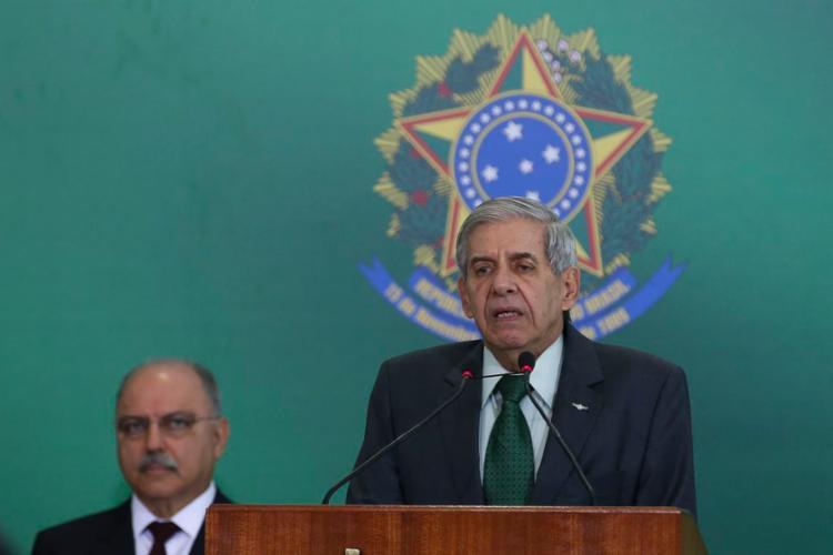 Augusto Heleno foi um dos Ministros que saiu em defesa de Sérgio Moro - Foto: Antonio Cruz | Agência Brasil