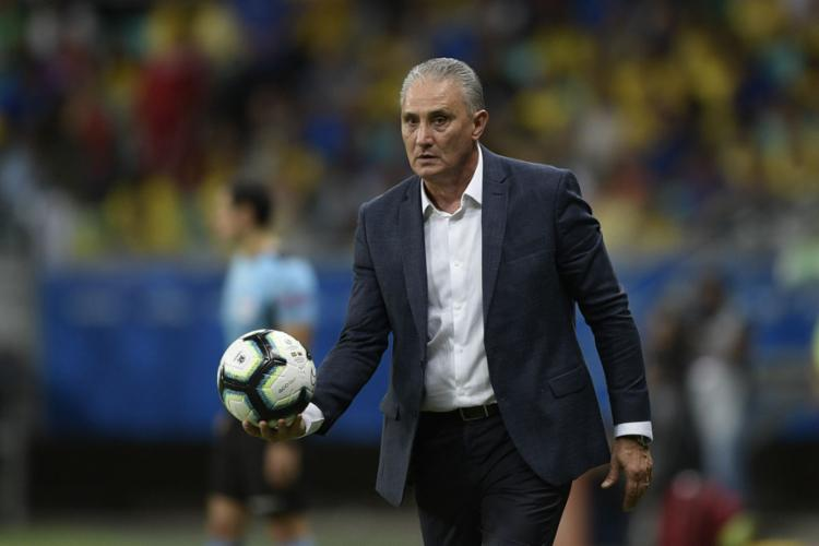 Seleção do técnico Tite volta a campo na quinta-feira, 27 - Foto: Juan Mabromata l AFP