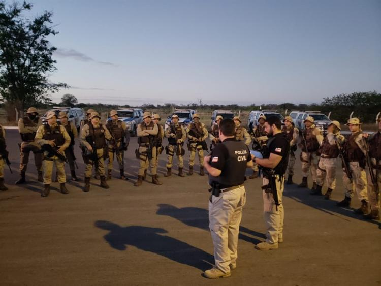 A ação, batizada de 'São João Limpo', foi articulada entre as polícias Civis e Militar - Foto: Divulgação   SSP