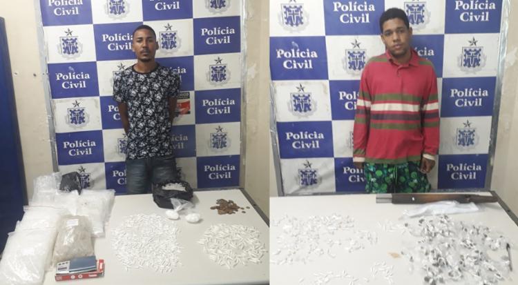 Todo material apreendido será enviado para perícia, no Departamento de Polícia Técnica (DPT) - Foto: Divulgação | Polícia Civil