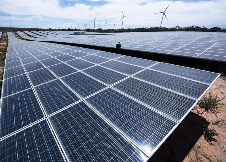 Serão mais de 30 usinas em todo país. As plantas solares vão abastecer 100% dos centros de distribuição da companhia - Foto: Divulgação