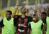 Com dois de Anselmo Ramon, Vitória bate Criciúma e finda jejum | Foto: Adilton Venegoreles l Ag. A TARDE