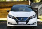 Nissan Leaf chega ao Brasil com toda carga | Foto: Divulgação