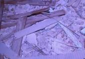 Telhado de casarão desaba no centro de Salvador | Foto: Reprodução I TV Record