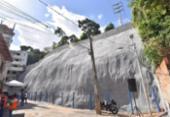 Contenção de encosta em Narandiba é entregue nesta quarta | Foto: Max Haack | Secom