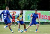 Lucca e Ronaldo são as novidades no Bahia para duelo com Cruzeiro | Foto: Felipe Oliveira | EC Bahia