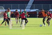 Osmar Loss realiza treino tático e foca na finalização | Foto: Divulgação | EC Vitória